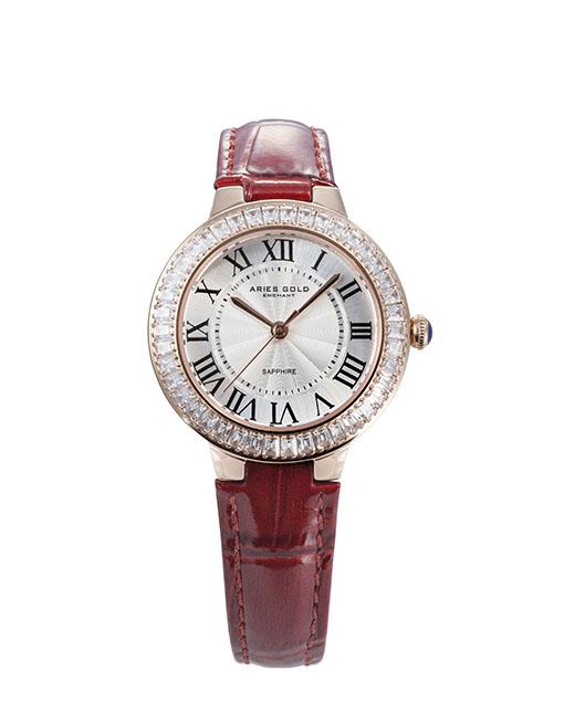 ★Aries Gold★-雅力士手錶-KENSINGTON-L 5008Z RG-W-錶現精品公司-原廠公司貨