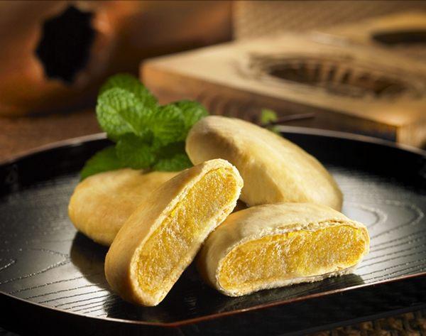 瑞源餅店新竹北埔名產伴手禮蕃薯餅8入盒蛋奶素