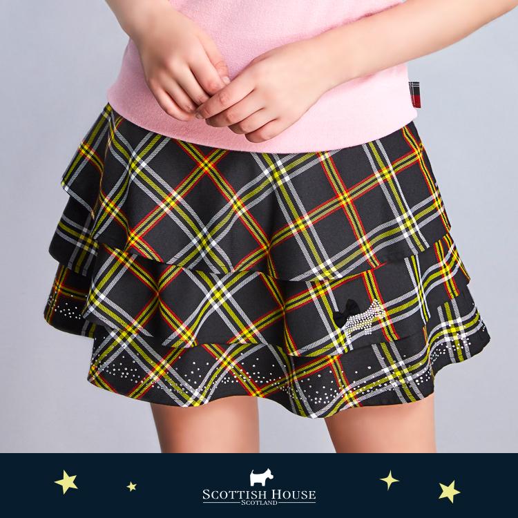 星空碎鑽蛋糕裙 Scottish House【AJ2105】