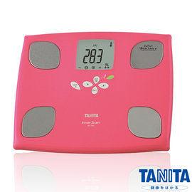 日本TANITA體脂計BC750(桃紅色)-十合一女性減重模式體組成計