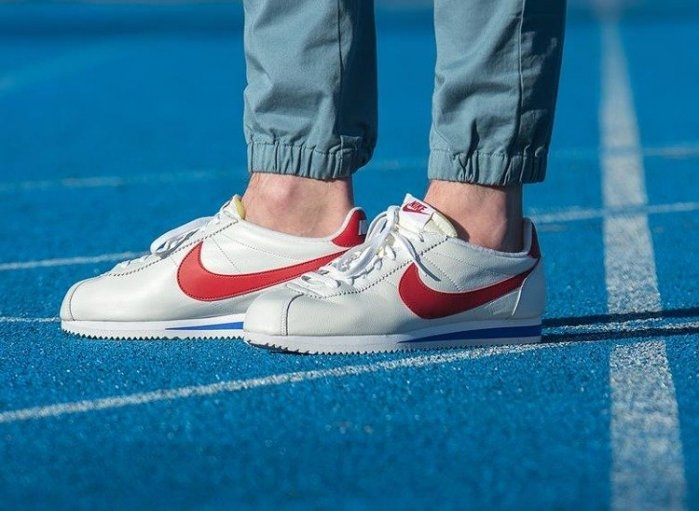 ISNEAKERS Nike Cortez Premium OG 807480-164 阿甘鞋 皮革製 男款 紅白藍