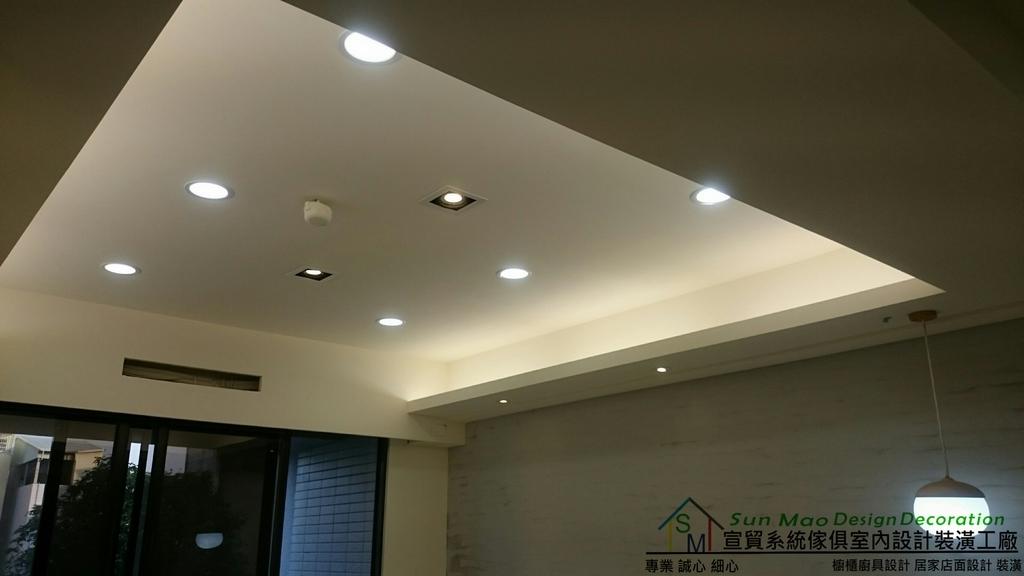 系統家具系統櫃木工裝潢平釘天花板造型天花板工廠直營系統家具價格造型天花板-sm0947
