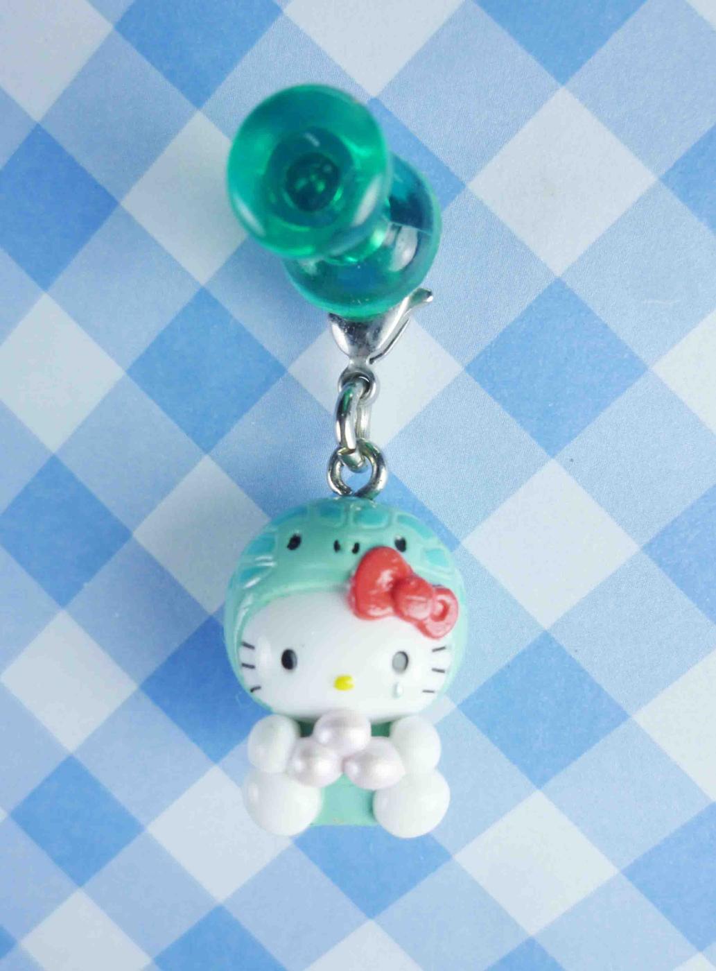 【震撼精品百貨】Hello Kitty 凱蒂貓~KITTY限定版吊飾拉扣-烏龜(抱珠)