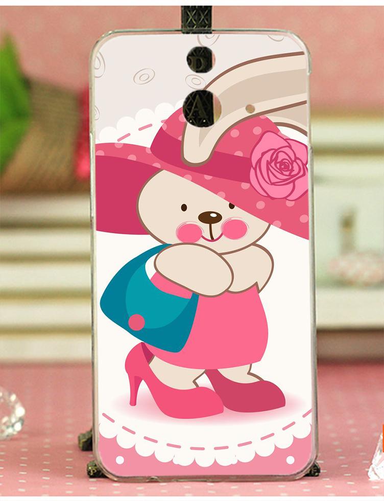✿ 3C膜露露 ✿ HTC One E8【逛街兔*水晶硬殼 】手機殼 保護殼 保護套 手機套