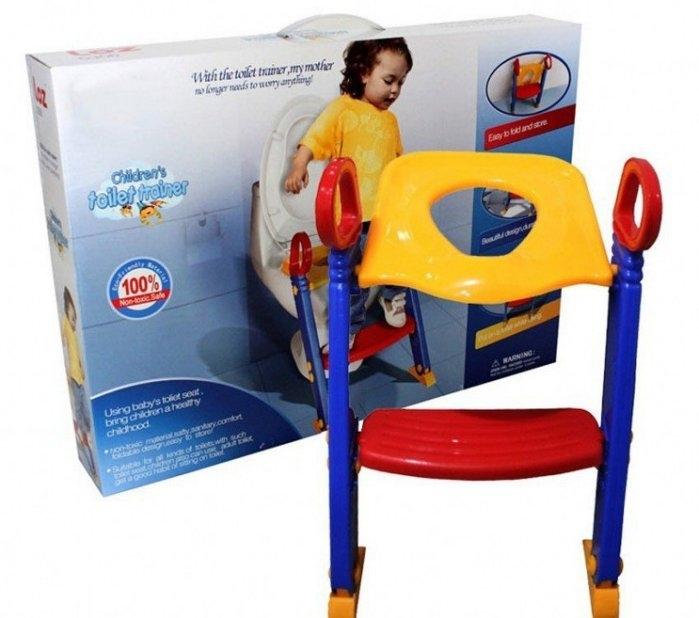 馬桶輔助梯LOZ幼兒學便器多功能樓梯階梯式學習馬桶兒童馬桶座椅馬桶輔助梯馬桶樓梯便盆