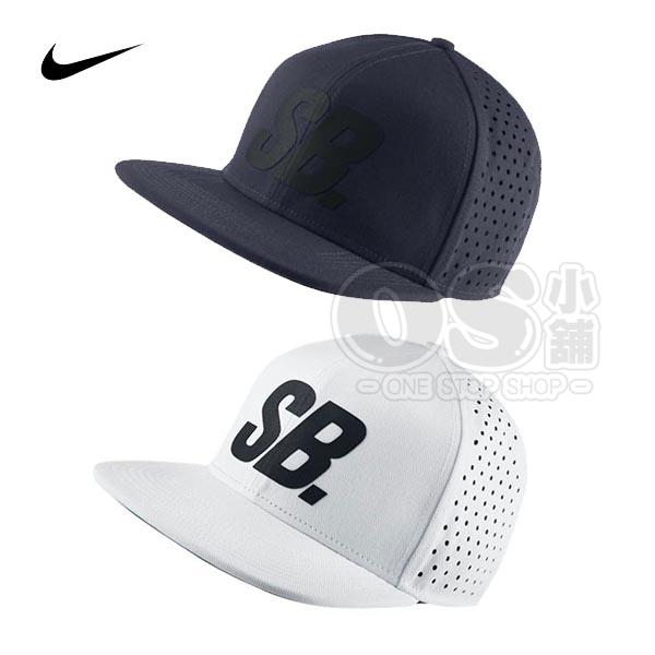 特價NIKE SB棒球帽804567-100白色804567-451深藍BLK Reflect PERF Pro可調後扣