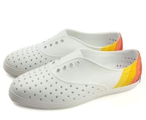 Native JERICHO BLOCK 女款白澄修身休閒鞋 -NO.11300402-9225