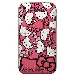 Hello kitty手機彩繪包膜DIY機身貼現代蝴蝶結系列203保護貼