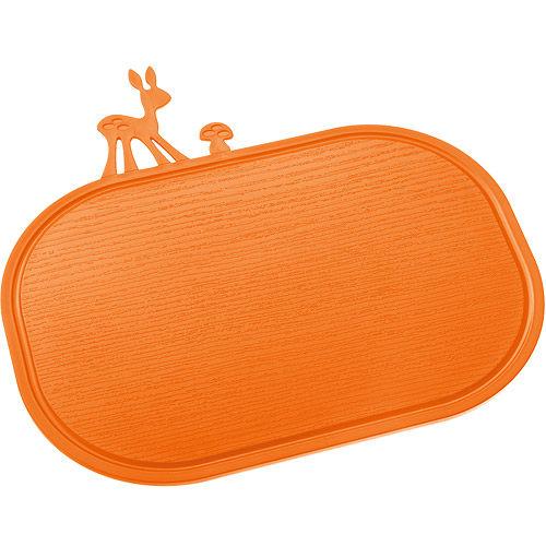 KOZIOL Kitzy斑比鹿早餐盤砧板橘