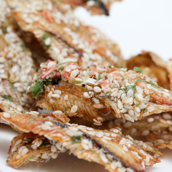 金梓食品青蔥蝦黃金魚170g包共兩包愛食網