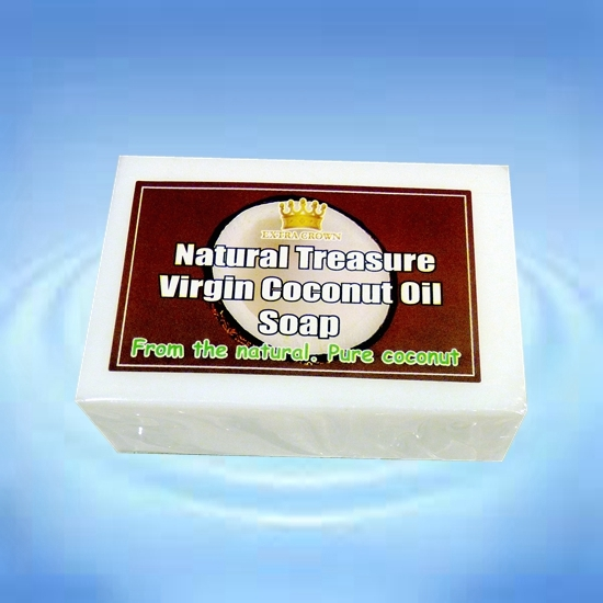 皇冠原裝進口椰子皂