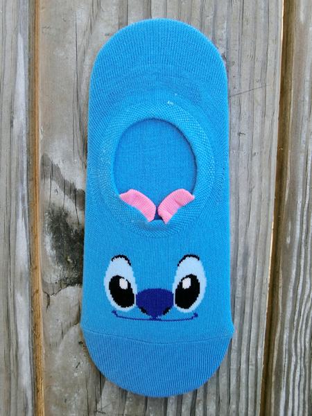 正韓-史迪奇奇船型襪韓國襪-B742185