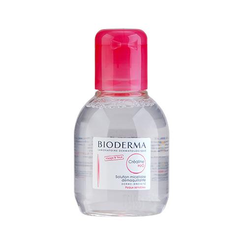 Bioderma貝德瑪Créaline H2O面及眼深層卸妝潔膚水中性至敏感皮膚100ml