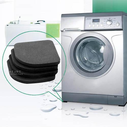 家電止滑靜音防震墊 4枚入 防震動 洗衣機防震墊 電器靜音