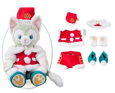 尼德斯Nydus*日本東京迪士尼海洋限定達菲熊Gelatoni傑拉托尼畫家貓傑拉貓聖誕節限定現貨