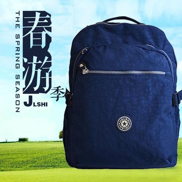 2017新款潮流男包雙肩包學院帆布包休閑電腦包旅行包背包學生書包─預購CH743