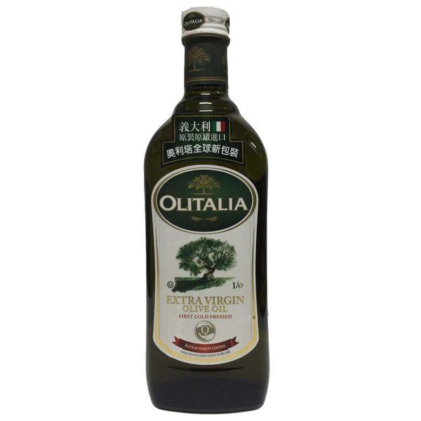 Olitalia奧利塔EXTRA VIRG特級冷壓橄欖油1公升瓶