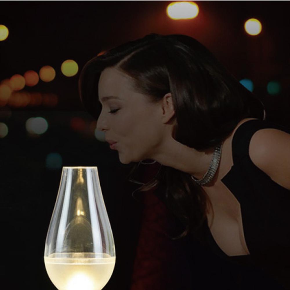 一吹即亮LED營燈顏色隨機出貨1600027阿拉丁神燈小夜燈.電子燭燈燭光晚餐用燈