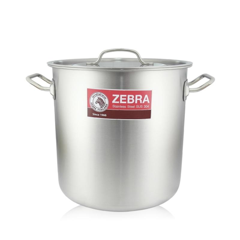 ZEBRA斑馬牌深型大滷桶不鏽鋼湯鍋26cm大容量燉滷鍋-大廚師百貨