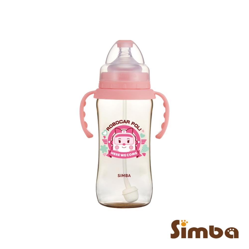 小獅王辛巴 安寶PPSU自動把手寬口葫蘆大奶瓶(360ml)