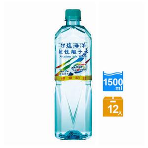 【台鹽】海洋鹼性離子水1500ml(12入/箱)