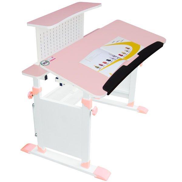 免運【第一博士 T5單人成長桌椅組(加大桌)】單人桌1椅 兒童書桌椅 升降桌椅 寫字桌 學生書桌