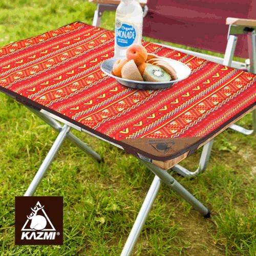 丹大戶外KAZMI折疊不鏽鋼小鋼桌烤肉桌折疊桌露營桌KAZ-CP-T-LOW
