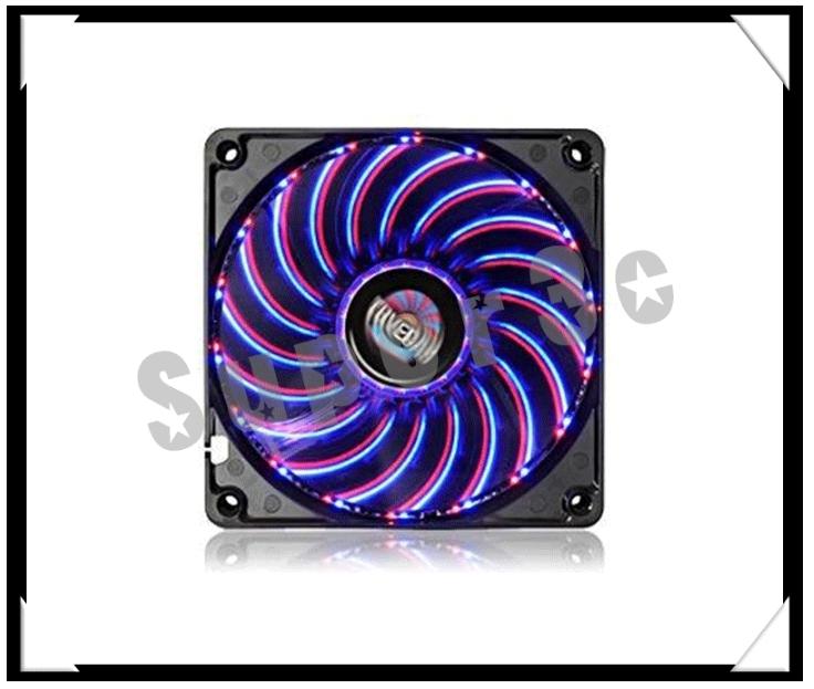 新竹【超人3C】Enermax 保銳 UCTVD14A 夜店雙色刀鋒扇 14cm 夜電紅藍光11種變化模組 氣壓軸承風扇
