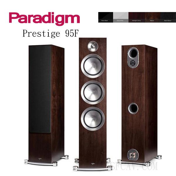 【竹北勝豐群音響】Paradigm Prestige 95F 落地喇叭  WA / B-WA