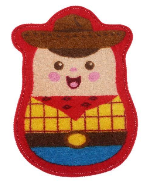 【卡漫城】胡迪 腳踏墊 ㊣版 玩具總動員 Woody 室內防滑墊 止滑墊 地毯 地墊 迪士尼