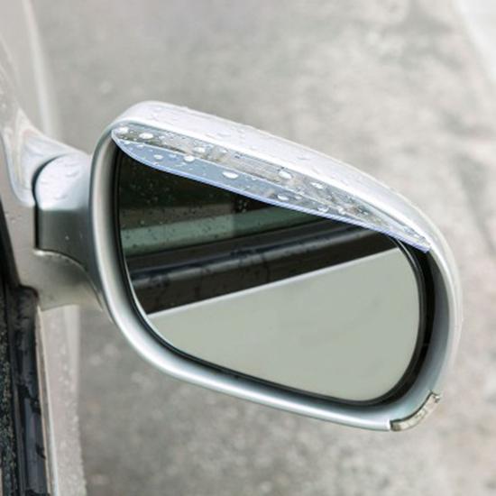 ♚MY COLOR♚汽車後視鏡遮雨板 雨眉 晴雨擋 反光鏡 倒車鏡 遮雨擋 車用【P258】