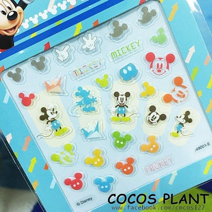 迪士尼指甲貼米老鼠米奇美甲貼指甲貼紙指甲貼彩繪貼紙COCOS PF033
