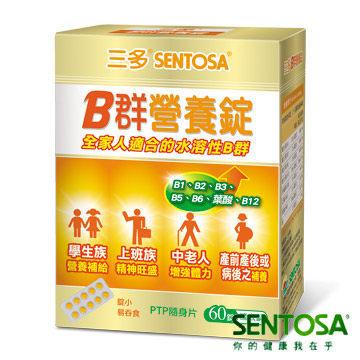 SENTOSA三多B群營養錠60錠躍獅