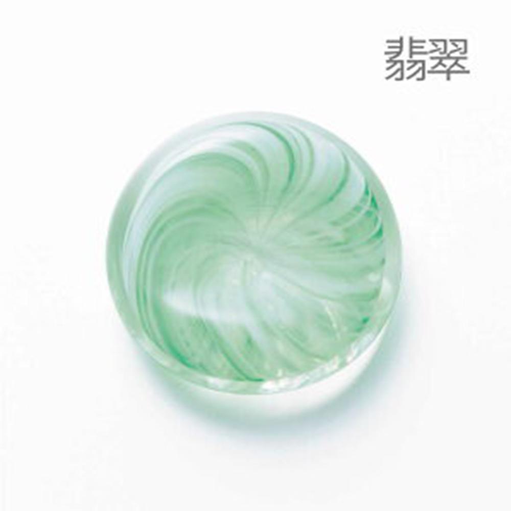 日本津輕 手作玻璃筷架-共6款(翡翠/露草/紺青/藤/白練/墨)