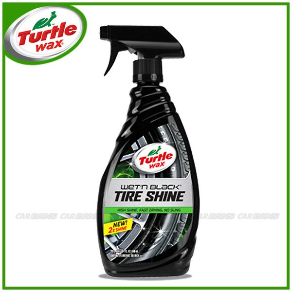 愛車族購物網美國龜牌Turtle Wax黑亮輪胎塑件光澤劑