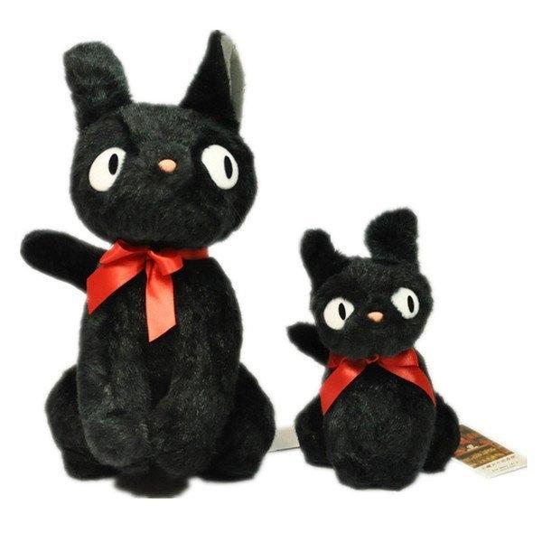 【發現。好貨】日本宫崎骏 魔女宅急便黑貓KIKI 站姿娃娃 立體KIKI 公仔 【小尺寸22公分】