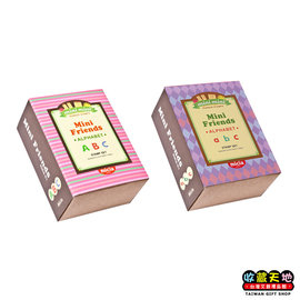 【收藏天地】Micia印章組*迷你好朋友ABC粉色(2款)∕ 印章 擺飾 送禮 趣味 文具