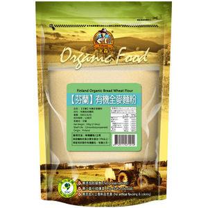 【米森vilson】芬蘭有機全麥麵粉 (500g)一包