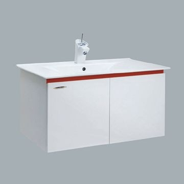修易生活館HCG伊頓系列臉盆浴櫃LCS3408水龍頭LF3177U