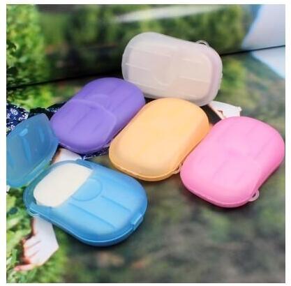 便攜式旅行香皂紙洗手紙香皂片香皂紙出差攜帶洗手肥皂片肥皂紙