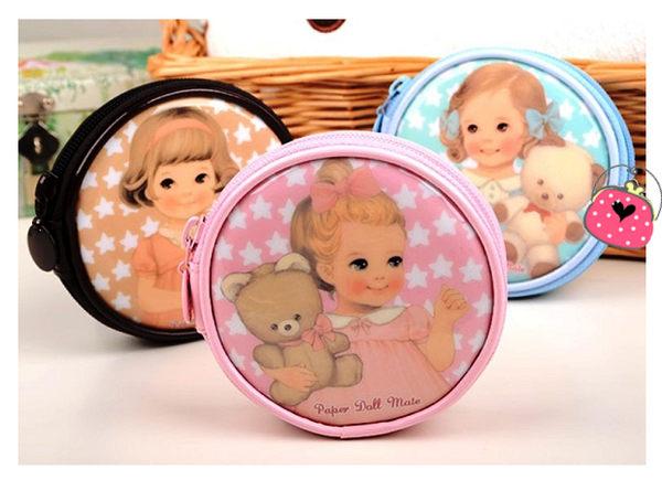 想購了超級小物超萌洋娃娃零錢包零錢收納包韓國熱銷小物