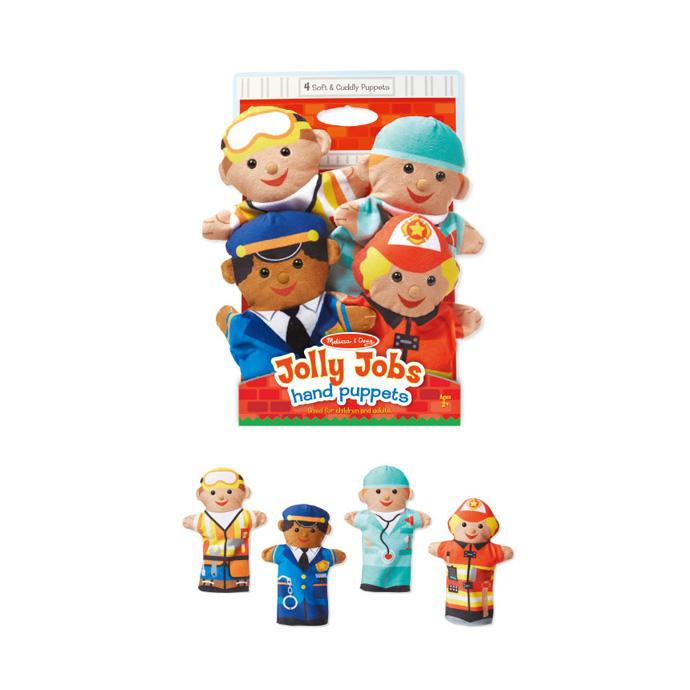 【華森葳兒童教玩具】扮演角系列-快樂職業手偶 N7-9086