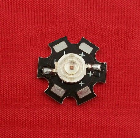 diy led燈珠 批發館100入起定每入16 1W紅光LED,大功率led,高亮度紅光 晶圓晶片
