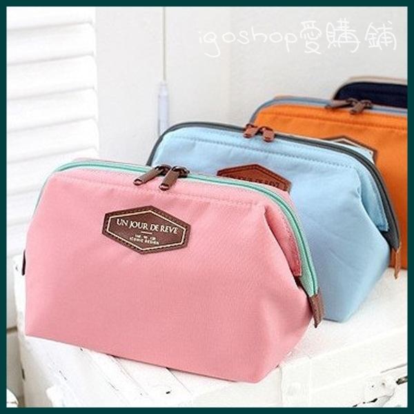 i go shop愛購鋪糖果色化妝包收納包盥洗包隨身包零錢包I02G034