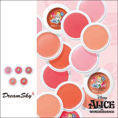 韓國Beyond愛麗絲午茶奶油霜感保濕腮紅膏遮瑕打亮蘋果肌迪士尼5g盒DreamSky