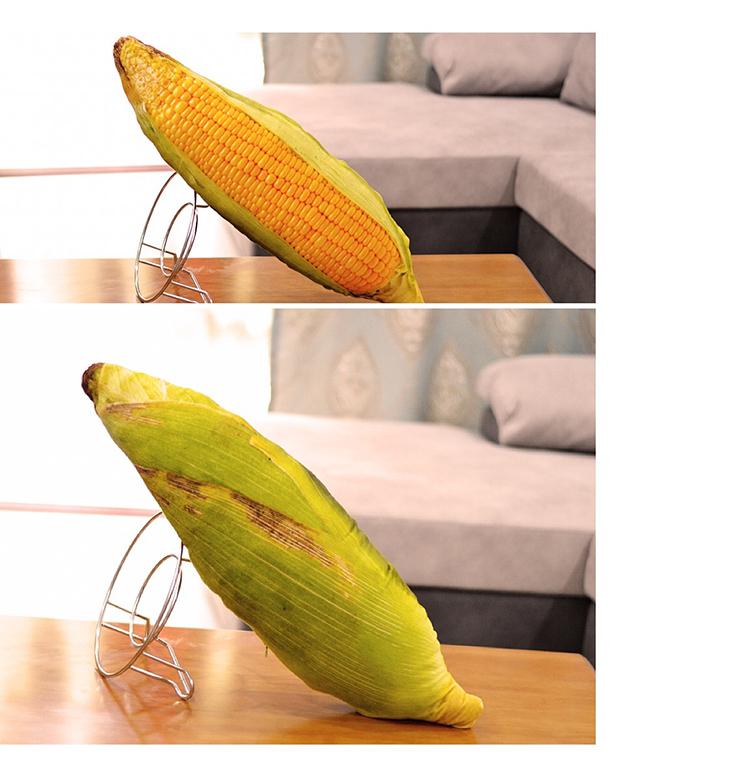 (現貨30CM)仿真玉米長抱枕公仔 創意食物靠墊蔬菜毛絨玩具兒童娃娃生日禮物