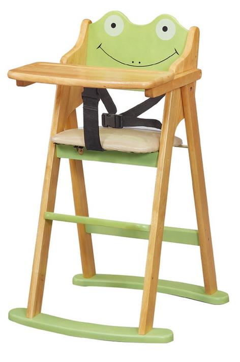 HY-766-4韓式青蛙折合寶寶椅本色