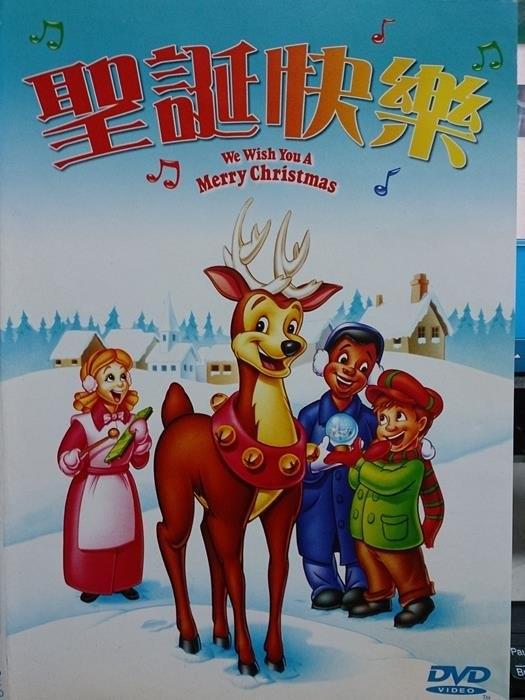 挖寶二手片-B32-091-正版DVD*動畫【聖誕快樂】國語-人們工作得太努力而忘掉有音樂的存在