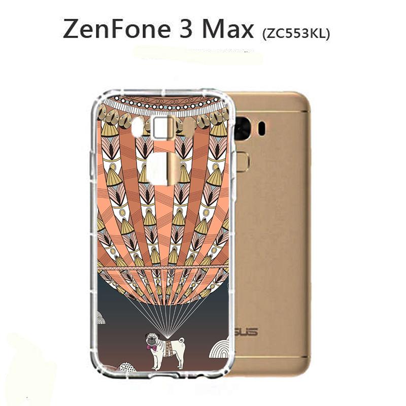 ✿ 3C膜露露 ✿{熱氣球*防摔空壓軟殼} ASUS 華碩 ZenFone 3 MAX手機殼 手機套 保護套