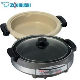 象印EP-RAF45土鍋風鐵板萬用鍋火鍋燒烤兩用設計多功能5.3L